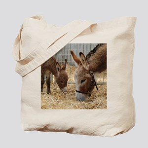 Donkey and her Foal Tote Bag