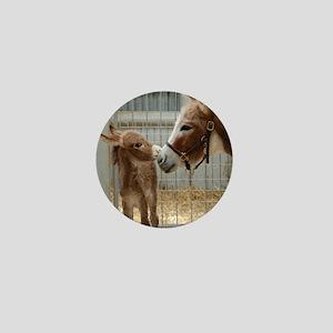 Newborn Donkey Foal Mini Button