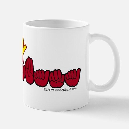 ALstateFlagILYbs Mug