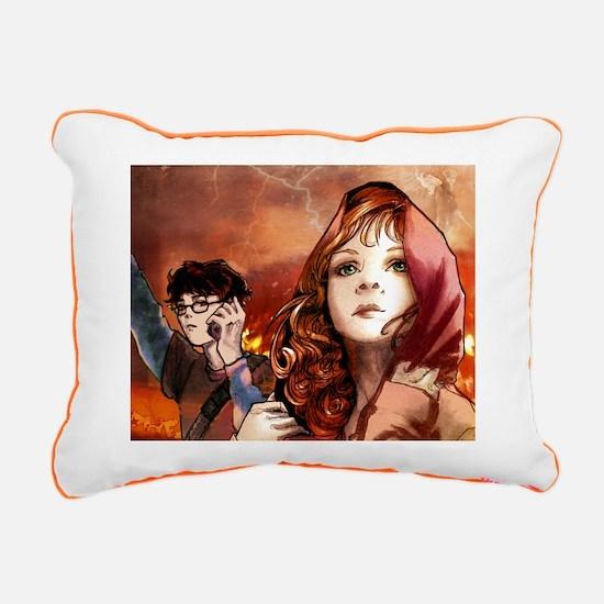 TMI:Shadowhunter(S) - Rectangular Canvas Pillow