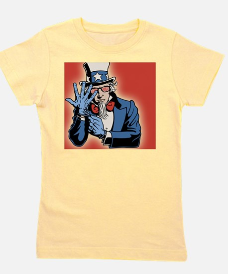 TSA-uncle-sam-OV Girl's Tee