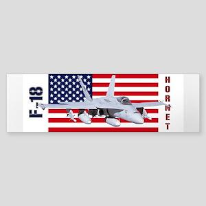F-18 Hornet Bumper Sticker