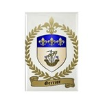 GERRIOR Family Crest Rectangle Magnet (10 pack)