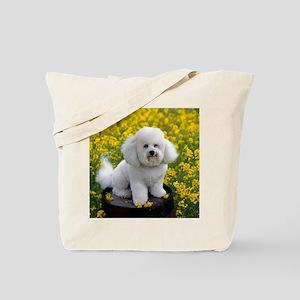 Bichon calendar Tote Bag