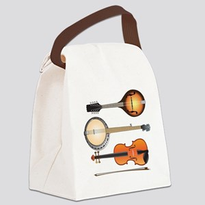 AMTVCafePressMandoBanjoViolin Canvas Lunch Bag