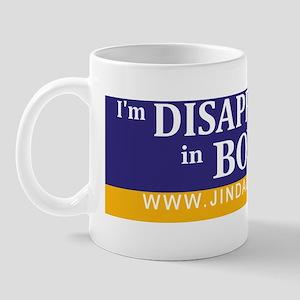 Bumper-Disappointed-Purple Mug
