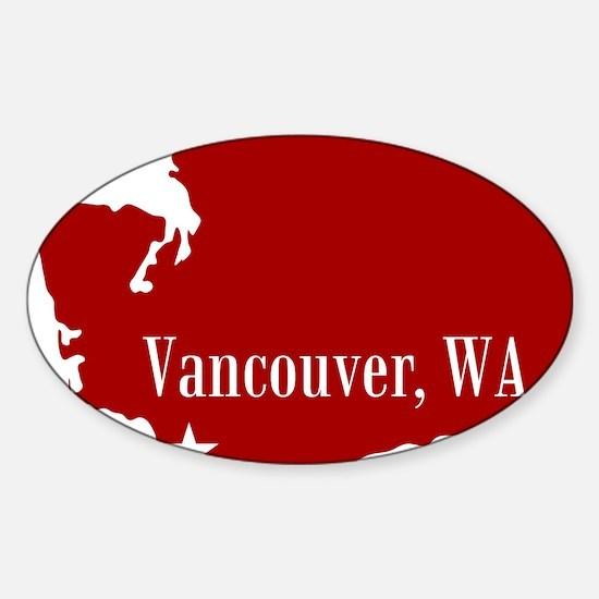 WAState Sticker (Oval)