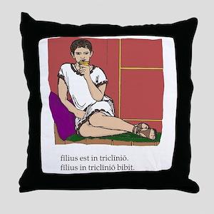 Quintus_col Throw Pillow