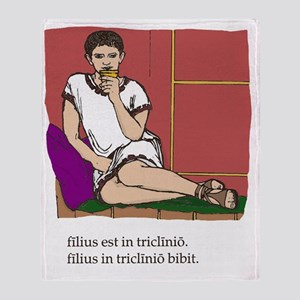Quintus_col Throw Blanket