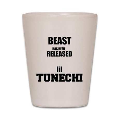 BeastTunechi Shot Glass