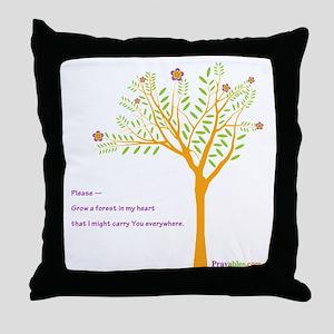 New Tree Praywear Throw Pillow