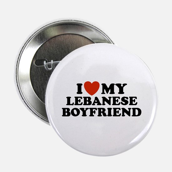 I Love My Lebanese Boyfriend Button