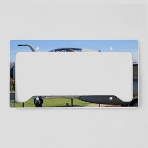 Military Plane License Plate Holder