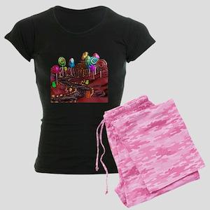 Candyland Women's Dark Pajamas