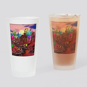 Candyland Drinking Glass