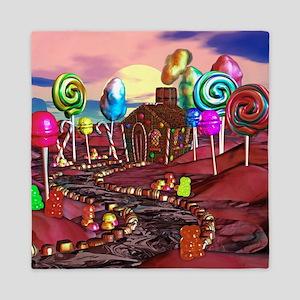 Candyland Queen Duvet