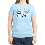 Get Real, Be Rational Math Humor Women's Light T-S