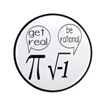 Get Real, Be Rational Math Humor 3.5