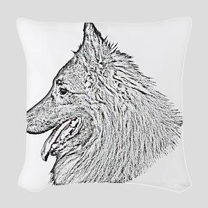 Tervueren1b Woven Throw Pillow