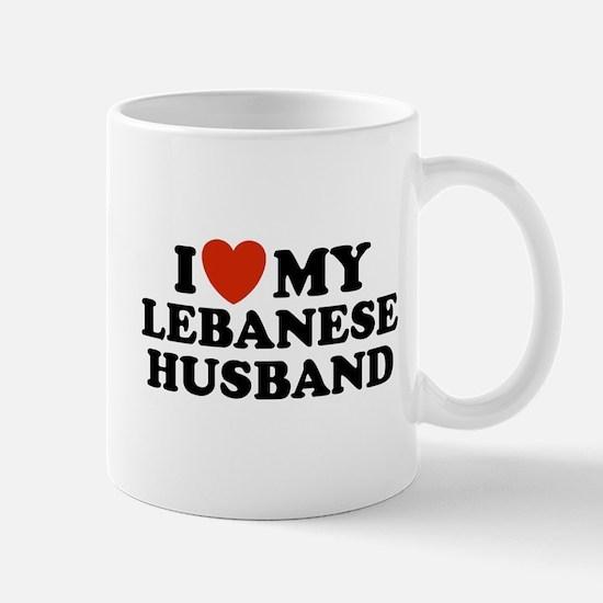 I Love My Lebanese Husband Mug
