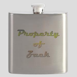 Property Of Zack Male Flask