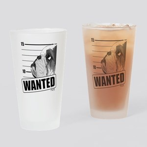 Bulldog5-NB Drinking Glass