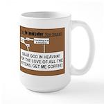 Coffee Flow Chart Mugs