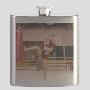The Karate Angels Calendar 1 Flask