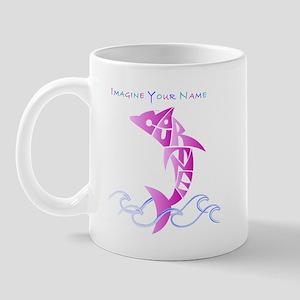 Cortney pink dolphin Mug