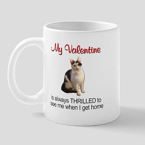 Valentine Cat 2 Mug