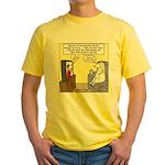 Procrastination Theater Yellow T-Shirt