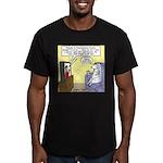 Procrastination Theater Men's Fitted T-Shirt (dark