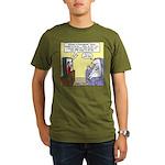 Procrastination Theater Organic Men's T-Shirt (dar