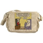Procrastination Theater Messenger Bag