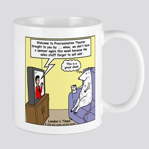 Procrastination Theater Mug