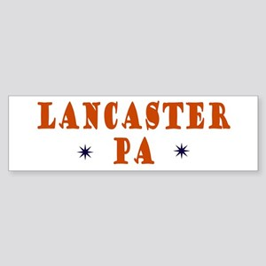 Lancaster Pennsylvania Bumper Sticker