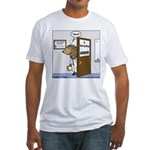 Porcupine Acupuncture Fitted T-Shirt