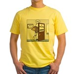 Porcupine Acupuncture Yellow T-Shirt