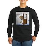 Porcupine Acupuncture Long Sleeve Dark T-Shirt