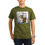 Porcupine Acupuncture Organic Men's T-Shirt (dark)