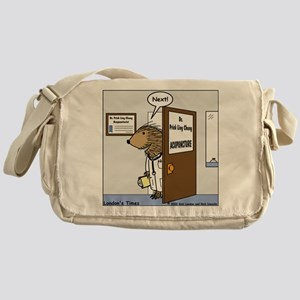 Porcupine Acupuncture Messenger Bag