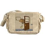 Porcupine Acupuncture Messenger Bag