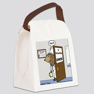 Porcupine Acupuncture Canvas Lunch Bag