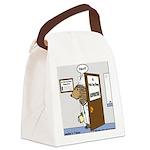Porcupine Acupuncture Canvas Lunch Bag
