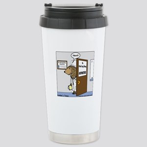 Porcupine Acupuncture Stainless Steel Travel Mug