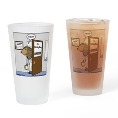 Porcupine Acupuncture Drinking Glass