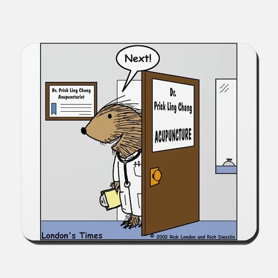 Porcupine Acupuncture Mousepad