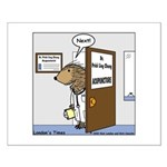 Porcupine Acupuncture Small Poster