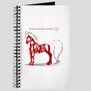 Courtney red horse Journal