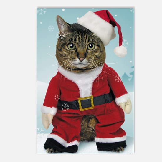 cpsanta_claws_stocking Postcards (Package of 8)